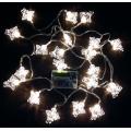 Коледни лампички с батерии - фигура ангелче