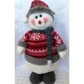 Снежен човек - красива статична кукла