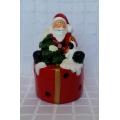 Музикална , светеща коледна фигурка с Дядо Коледа