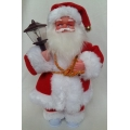 Музикален Дядо Коледа с фенер