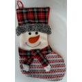 Голям чорап със снежен човек или Дядо Коледа