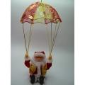 Музикален дядо коледа с парашут