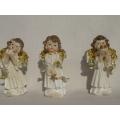 Коледени ангелчета - фигурки