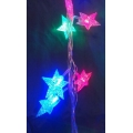 Коледни LED лампички - фигура звезда