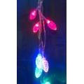 Коледни лампички - LED фигурa шишарка