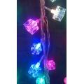 Коледни лампички - LED фигурa кубче
