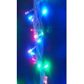 Коледни лампички - шарени LED