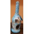 Коледна бутилка с лисичка