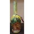 Коледна бутилка с камбанки